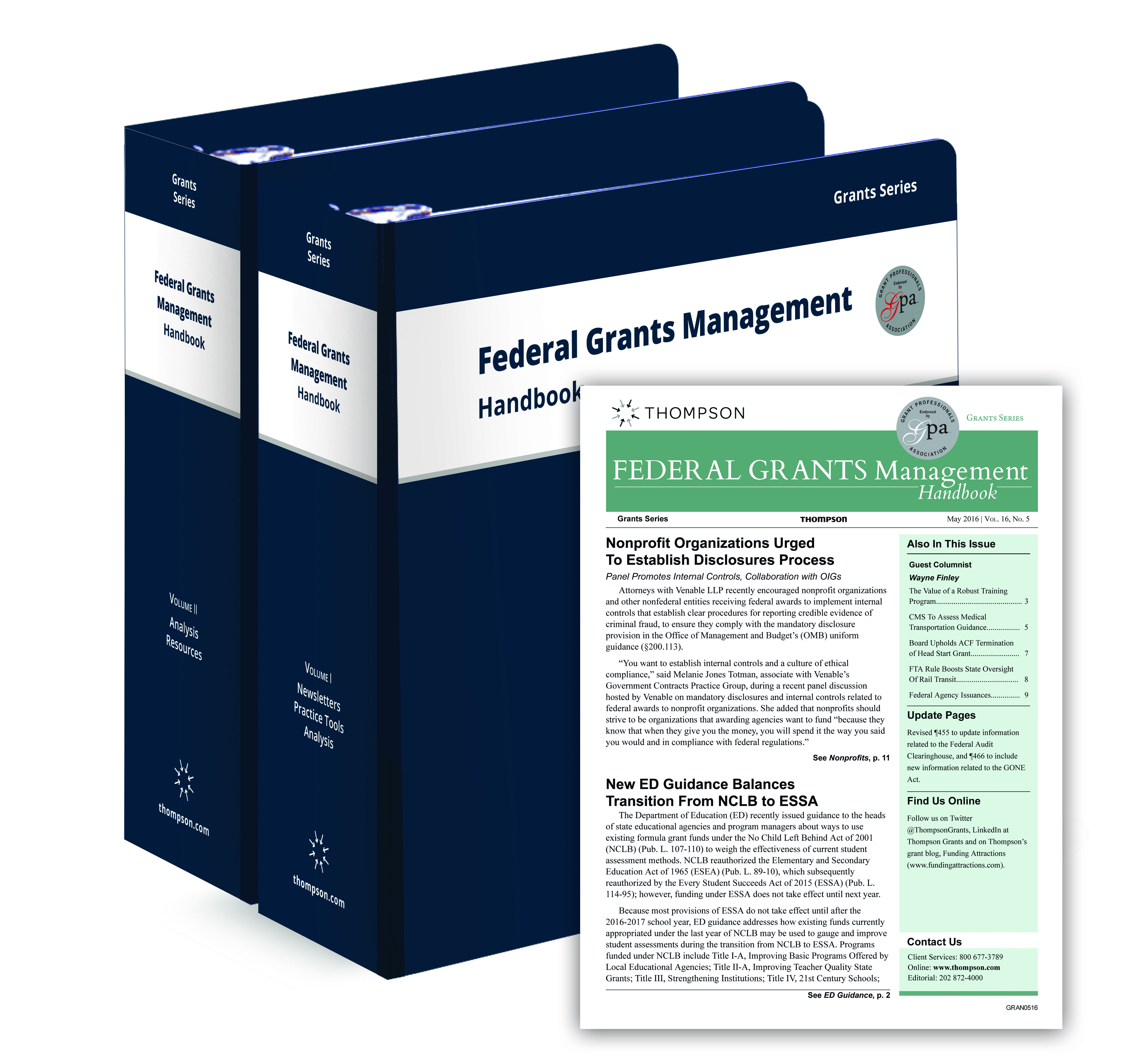 Technology Management Image: Federal Grants Management Handbook